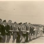 1943 Díjkiosztás a marosvásárhelyi körzeti versenyen balról 3. Hints Ottó 4. Budai András